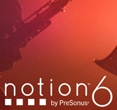 PreSonus Music Notation Software Notion6