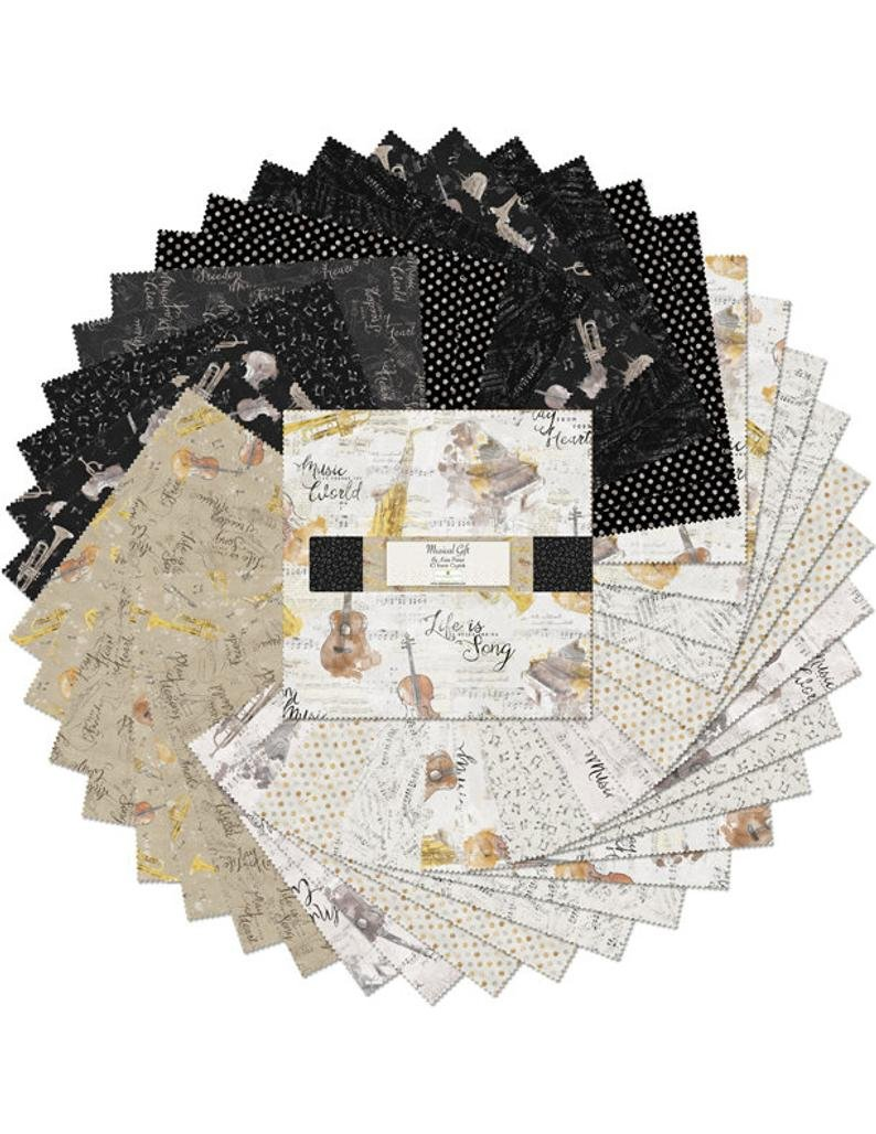 Musical Gift by Katie Pertiet 10 Karat Crystals - copy