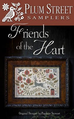 Friends of the Hart counted cross stitch pattern