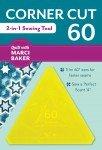 Corner Cut 60 - 2 in 1 Sewing Tool # 20342