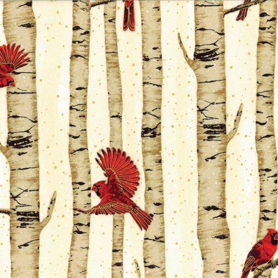Holiday Classics- Cardinals & Birch