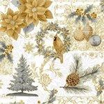 Joyful Traditions by Hoffman - Gold #27750-47