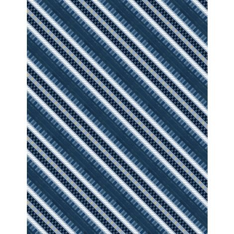 Lake Life Blue Stripe