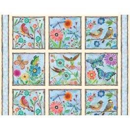 Floral Flight 11151-478 Panel