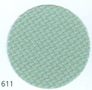 Zweigart 14 Count Aida Cloth - Celadon - 18 x 13.5 - #3706-611
