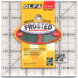 Olfa 4.5 x 4.5 ruler