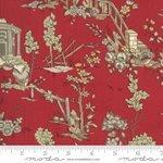 JARDIN DE FLEURS BY FRENCH GENERAL - Rouge Floral- #513890-11