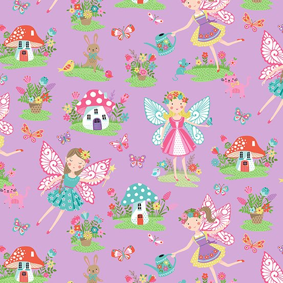 Daydream Fairies and Toadstools #2276L