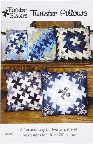 Twisted Sisters Twister Pillows Pattern #TWS102