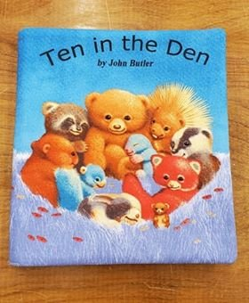Ten in the Den Book Panel