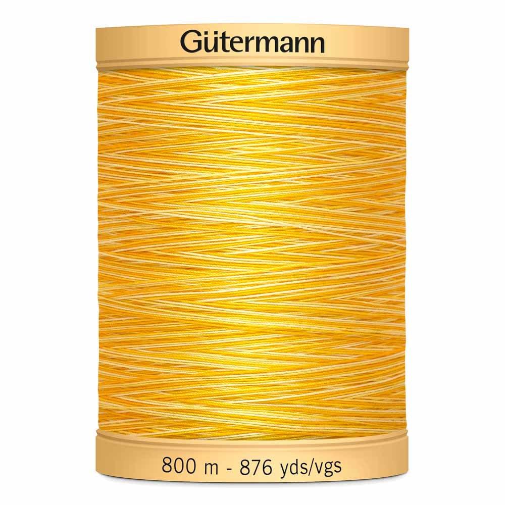 Gutermann Machine Variegated Cotton 50wt. 800m
