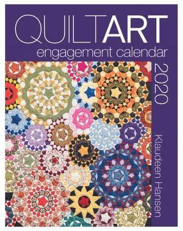 PRE-ORDER: 2020 Quilt Art Engagement Calendar