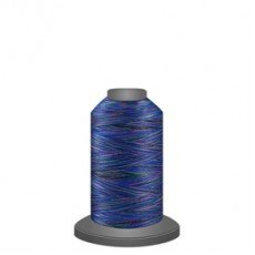 Glide Affinity Variegated Polyester Thread - 900 metres - Aquamarine # 60153