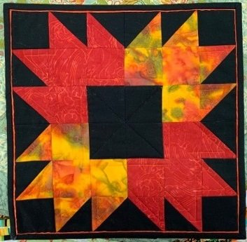 Autumn Blaze Table Topper