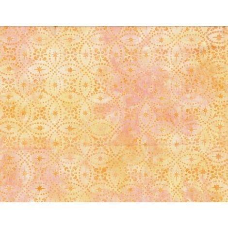 Wilmington Batiks 1400 Batavian #22253-581 - Locked Circles Yellow