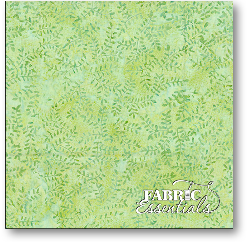 Wilmington Batiks 1400 Batavian #22256-774- Maidenhair Green