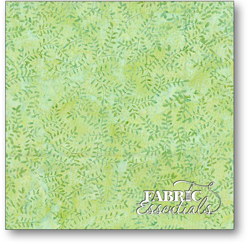 Wilmington Batiks 1400 Batavian #22256-774- Maidenhair Green