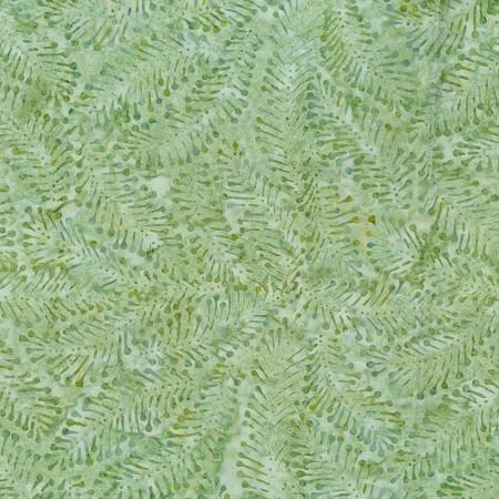 Wilmington Batiks 1400 Batavian #22260-774 - Packed Ferns Light Green