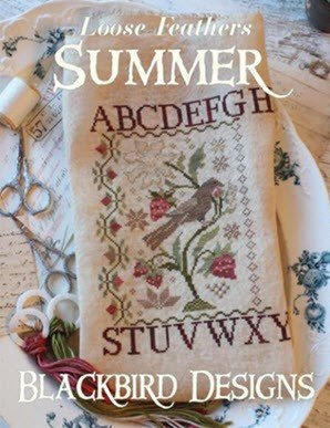 Summer ~ Loose Feathers from Blackbird Designs