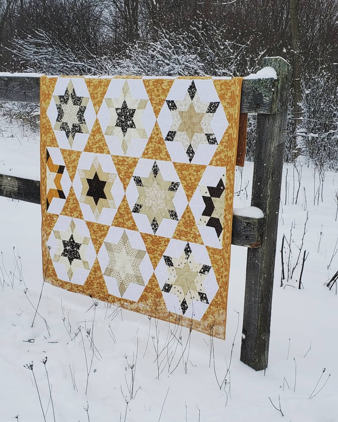 Bee Creative Quilt - Store Sample