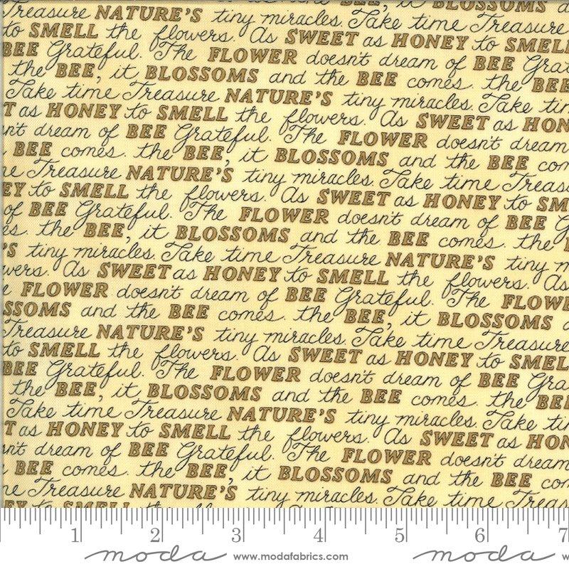 BEE GRATEFUL BY DEB STRAIN FOR MODA -  # 519963-12