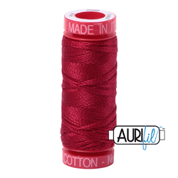 AuriFil Embroidery Floss - #MK12SP50-2260 Red Wine 12wt.