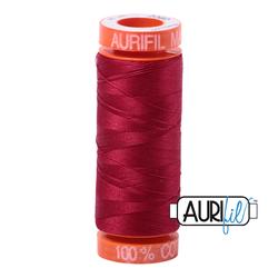 Aurifil Cotton Thread - #MK50SP200-2260 Red Wine 50wt.