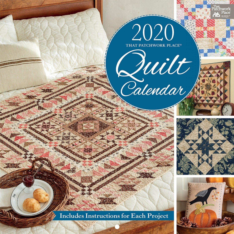 PRE-ORDER - 2020 Patchwork Place Quilt Calendar
