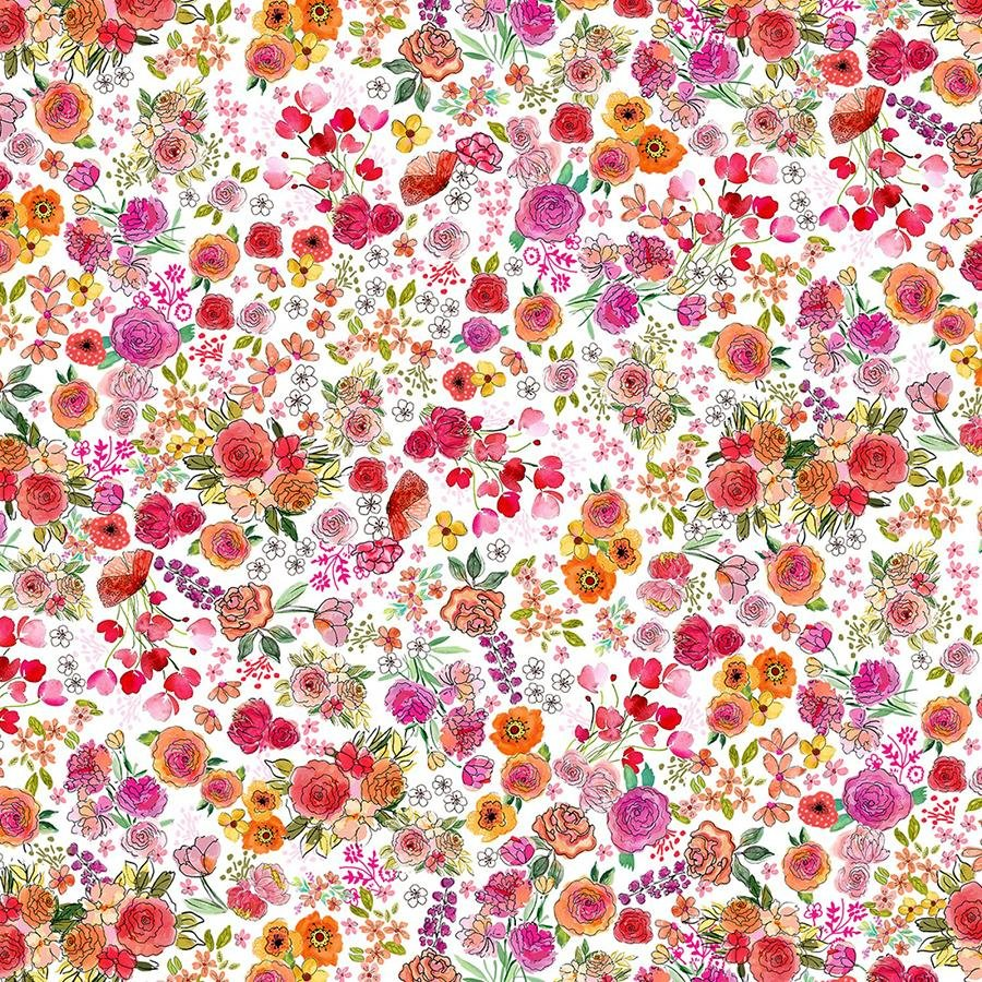 Sew Floral Sewing Large Floral #C8933