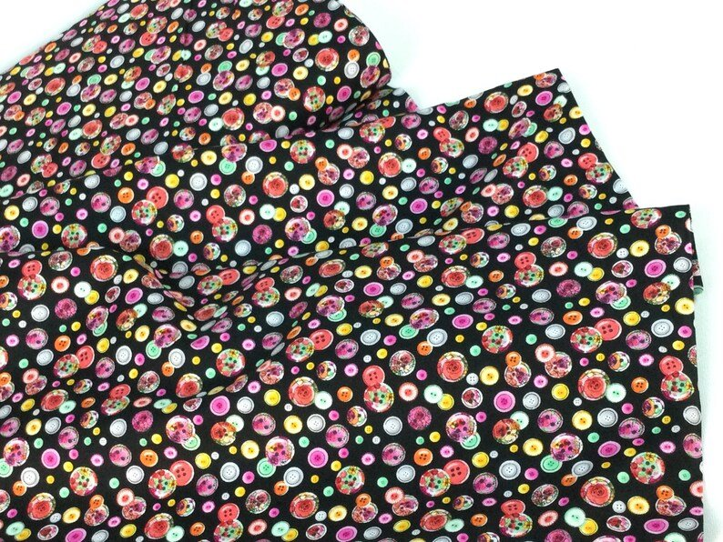 Sew Floral Sewing Buttons #C8936