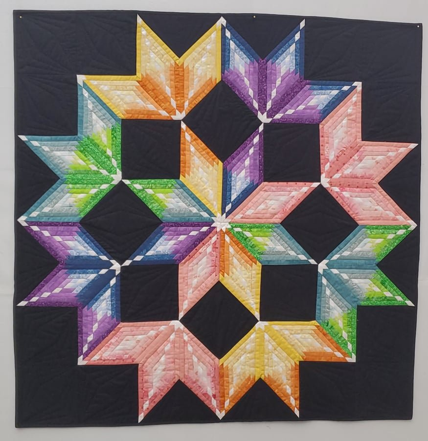 Colorburst Wall Quilt Kit 45 x 45