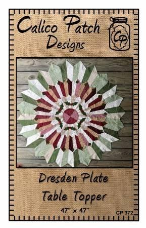 Dresden Plate Table Topper