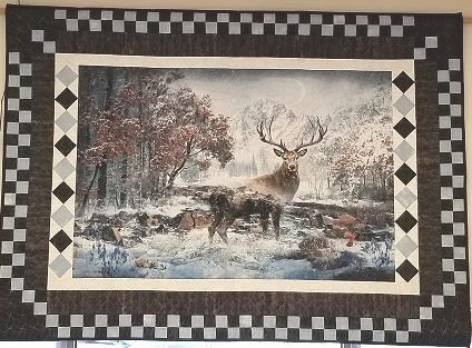 Call of the Wild Deer Wall Hanging- store sample