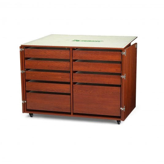 Arrow/Kangaroo Cabinets and Tables - DINGO II CUTTING & STORAGE CABINET WITH MAT