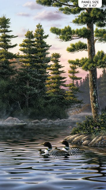 Tranquil Moments Loon Panel
