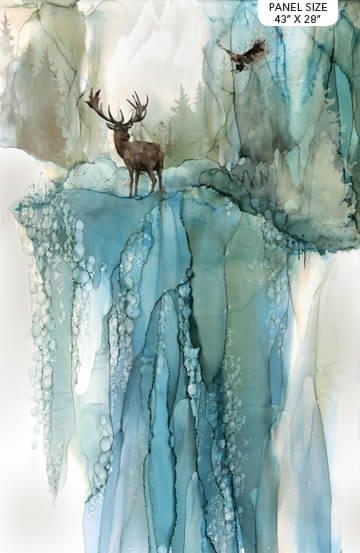 Whispering Pines by Melanie Samra for Northcott Panel (43 x 29) # DP23750-46
