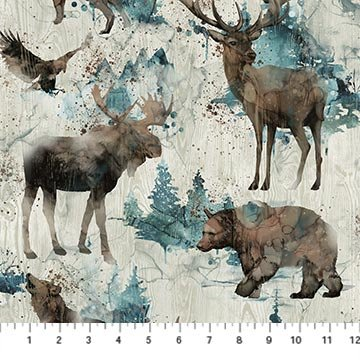 Whispering Pines by Melanie Samra for Northcott # DP23752-12
