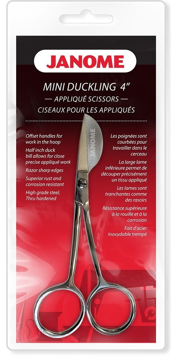 Janome Mini Duckling 4 Applique Scissors #JA712MD