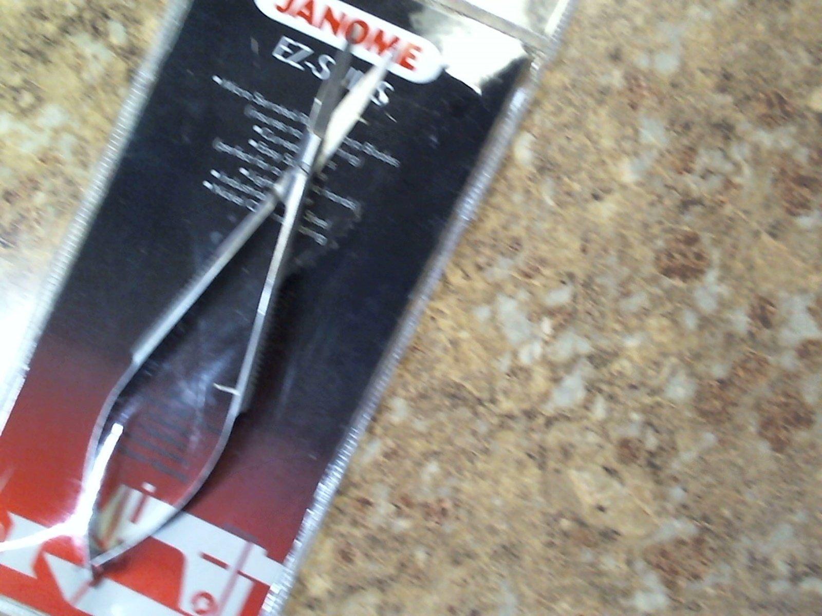 Janome EZ-Snips - Curved Scissors