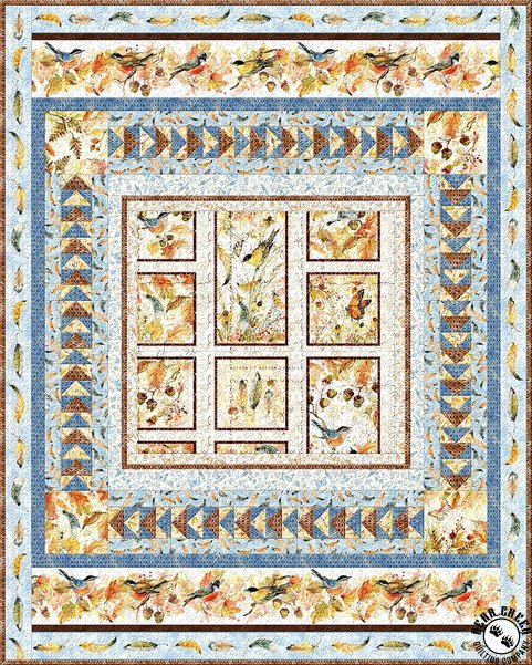 Forest Dance Quilt Pattern Kit