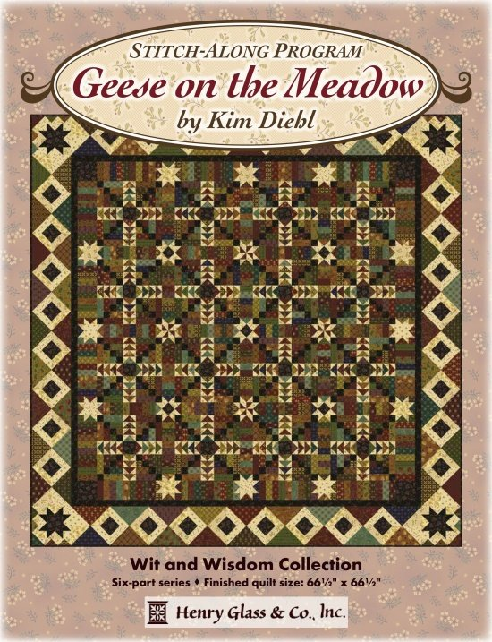 Geese on the Meadow - Quilt Kit