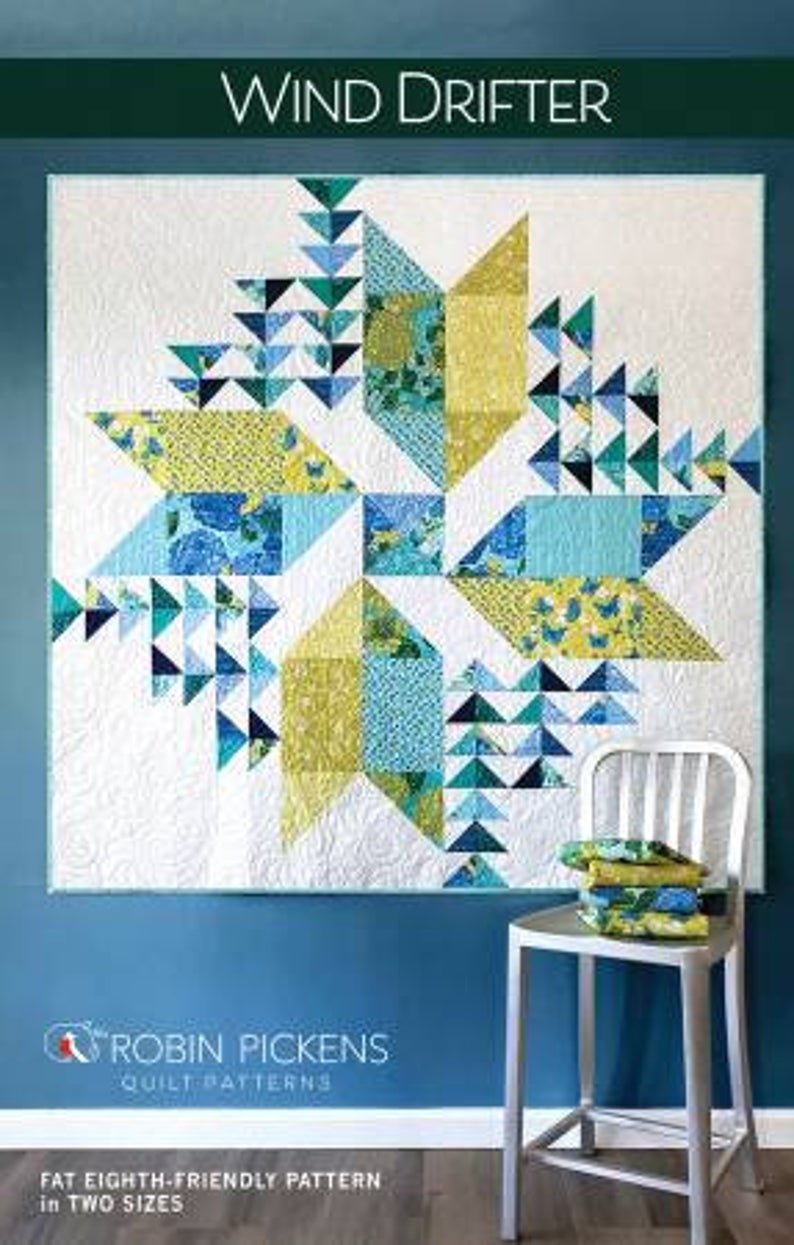 Wind Drifter Quilt Pattern by Robin Pickens # RPQP-WD135