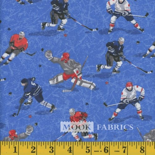 Hockey Players Light Blue