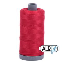 Aurifil Cotton Thread - #MK28SC6-2250 Red 28wt.