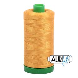 Aurifil Cotton Thread - #MK40SC6-2140 Orange Mustard 40wt