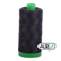 Aurifil Cotton Thread - #MK40SC6-4241 Very Dark Grey 40wt.