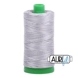 Aurifil Cotton Thread - #MK40SC6-4670 Silver Fox 40wt.