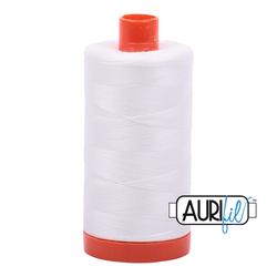 Aurifil Cotton Thread - #MK50SC6-2021 Natural White 50wt.