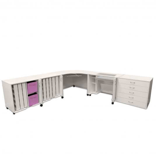 Arrow/Kangaroo Cabinets and Tables - MOD SQUAD CABINETS
