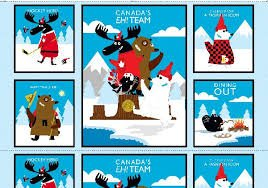 Canadian Capers Moose Panel